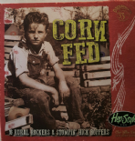 LP CORN FED VOL 1 - 16 KILLER HILLBILLY & ROCKABILLY RARE TRACKS FIRST TIME ON COMPILATION
